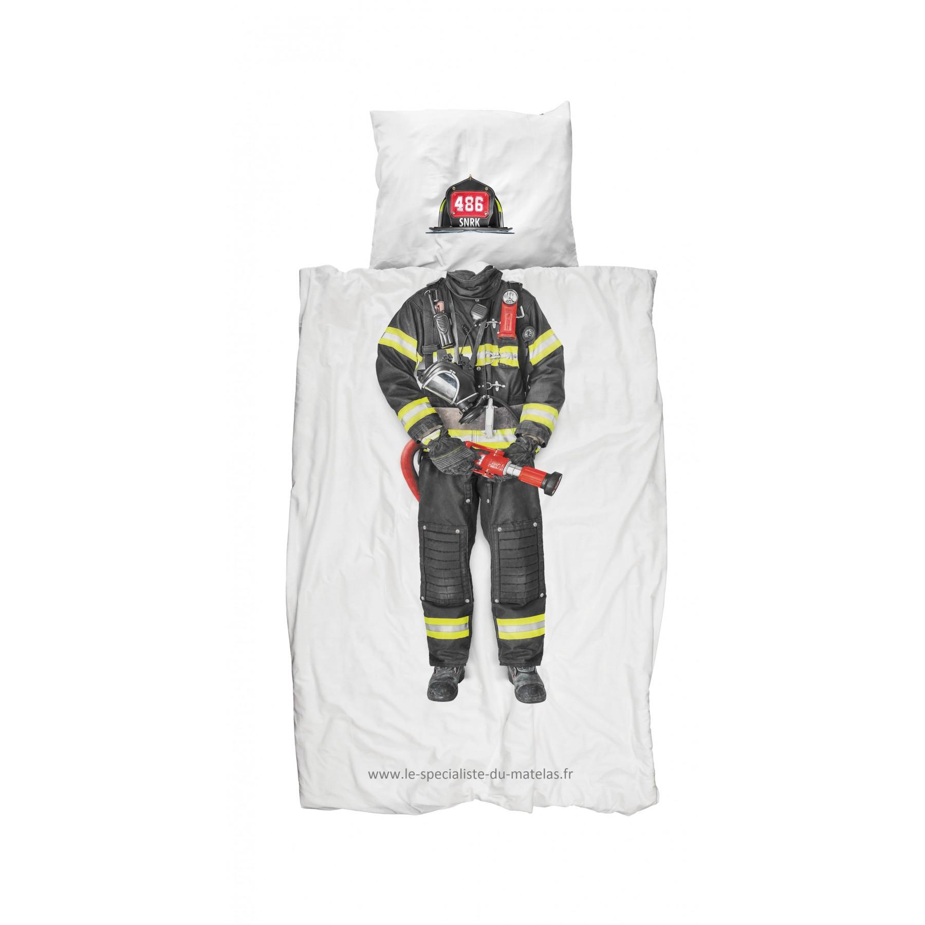 Housse de couette snurk pompier d couvrir au le - Housse de couette pompiers ...